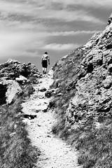 Explore the path (photo-aquila) Tags: photoaquila alps alpen mountain hill berg summit mountaintop gipfel rock felsen hiking bergwandern path trail pfad fixedroperoute klettersteig dolomites dolomiten blackandwhite bnw schwarzweiss blackandwhitephotography schwarzweissfotografie bnwpictures schwarzweissbilder passionforbnw