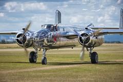 RedBullB25 (tamson66) Tags: airshow aircraft mitchell b25 airplane airport redbull