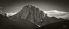 Mampodre (Jose Antonio. 62) Tags: mountains montañas nature naturaleza snow nieve clouds nubes bw blancoynegro blackandwhite