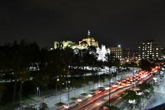 CDMX (eduardovázquez1) Tags: cdmx mexico noche trafico carros vehiculos calle night velocidad lenta punto de fuga paisaje urbano