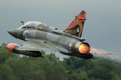 French air power (Nick Collins Photography, Thanks for 2.75m views) Tags: couteau delta dassault mirage 2000d french france aircraft airshow aviation flying military afterburner raf fairford riat reheat canon 7dmk2 500mm
