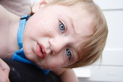 Thomas (Lisa Qiryaqouz) Tags: kids birthday boy handsome little baby blue eyes family indoor child