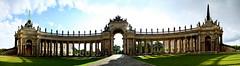 Triumpftor am Neuen Palais (Pinky0173) Tags: potsdam sanssouci park neuespalais victorygate panorama 180 germany canon thrunfotografiede pinky0173 triumpftor