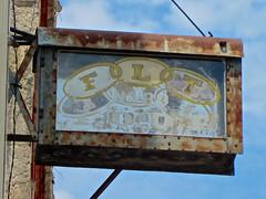 Odd Fellows, Wamego, KS (Robby Virus) Tags: wamego kansas ks flt odd fellows ioof sign signage rust rusty fraternal organization