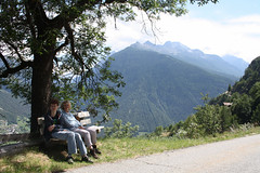 The classic walk from Zeneggen to Törbel (onno de wit) Tags: schweiz suisse svizzera svizra switzerland zwitserland wallis valais alps mountains törbel zeneggen burgen annemarie sander