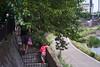 By the River - Walk to JR Totsuka JRC 20170624 (Rick Cogley) Tags: 2017 cogley fujifilmxpro2 50mm 1125sec iso1000 expcomp03 whitebalanceauto noflash programmodemanual camerasnffdt23469342593530393431170215701010119db2 firmwaredigitalcameraxpro2ver310 walk summer hot nipponkogakujapan nikkorhc12f5cml39ltm lenssn728258 yokohama totsuka kanagawa japan jp am saturday june