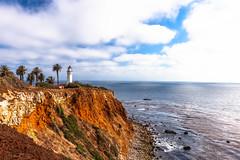 Palos Verdes | Los Angeles, CA (jc.deluna@rocketmail.com) Tags: palosverdes losangeles beach cliff clouds ocean pacificocean rocks nature lighthouse