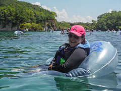 Out on the Open River (Jerry Bowley) Tags: rivieramaya xelha float ecopark lisa river allinclusive