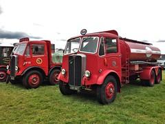AECs KOM 49 & CSV 987 (Shaun Ballisat (Transport Photos)) Tags: classic old vintage vehicles lorries trucks lorry truck transport photos photography kom49 kom 49 brs british road services mammoth major aec exeter csv987 csv 987 fuel tanker esso