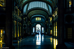 San Federico Gallery Turin (joe petruz) Tags: street streetphotography gallery city torino turin italy piemonte bellezzeitaliane vintage people building old light shadow canon walking field portico eos 650d canonisti canonitalia square place important italianplaces