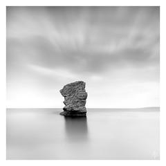 Butter Rock  [Explored July 29th 2017] (fearghal breathnach) Tags: seastack dorset longexposure squareformat durdledoor