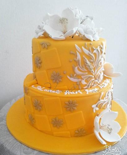 2tier royal cake2