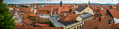 Bamberg rooftops (Blackburn lad1) Tags: bamberg germany rooftops redroof panoramic cityscape xt20 deutschland rivieratravel medievalcity
