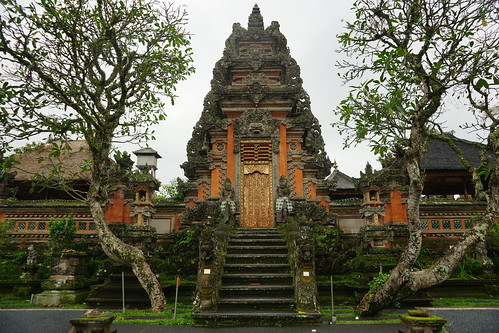 The temple at the Ubud Water Palace