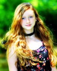 Emmy (savonnaslessley) Tags: raccooncreekstatepark emily em summer lake pennsylvania redhair redhead teenager closeup headshot canon5dmarkiii canon70200mm28lisusm