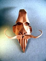 Don Quijote - Daniel Bermejo Sánchez (Rui.Roda) Tags: origami papiroflexia papierfalten máscara masque mask don quijote quixote daniel bermejo sánchez