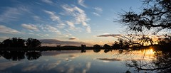 Richmond River (dustaway) Tags: landscape australianlandscape richmondvalley northernrivers sundown nsw australia sky bluesky clouds sunset waterscape reflections richmondriver buckendoon