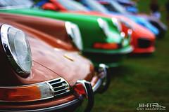 Porsches-a-Plenty (Hi-Fi Fotos) Tags: pvgp pittsburghvintagegrandprix carshow porsche german import sportscar 911 row exotic collector bokeh dof nikkor 50mm 14 nikon d7200 dx hififotos hallewell
