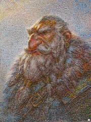 OGRO Mosaico (by zurera) Tags: digital hd art collage retratos portraid zurera people fotomontaje image autoretratos mosaic