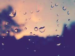 Raindrops (Peeano Photography - ピアーノ写真) Tags: raindrops window warmth music love romantic