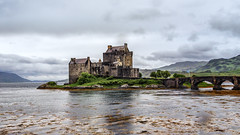 Eilean Donan Castle, Scotland (Coral Norman) Tags: eilean donan castle scotland sea highlands loch lochduich lochalsh landscape uk unitedkingdom heritage lochlong