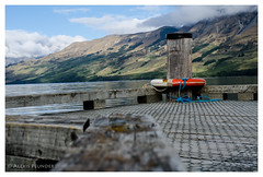 At the peer in Glenorchy (al3x!s) Tags: anthropic architecture black blue bokeh brown cloud color colour d7000 geology gray green grey harbour lake mountains nature newzealand nikkor35mm nikon orange outside photo red rocks sky sunlight town travel tree urban water white wood glenorchy otago