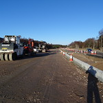 Second carriageway under construction at Baldow thumbnail