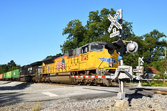 Union Pacific #8745 in Elko, Georgia (Fred Watkins (kg4vln)) Tags: kg4vln camminante nikon d5500 railroads railfans unionpacific elko georgia