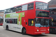 National Express West Midlands Dennis Trident 2/Alexander ALX400 4374 (BV52 OAM) (Yardley Wood) (john-s-91) Tags: nationalexpresswestmidlands dennistrident2 alexanderalx400 4374 bv52oam solihull route76 walls2017