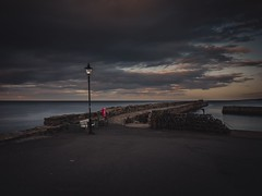 St. Andrews Harbour (fraserwatson2) Tags: thirds four micro gx85 gx80 lumix quiet light street night coast seascape sea harbour standrews fife scotland