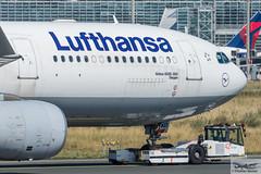 Lufthansa Airbus A330-343E D-AIKD Siegen (718882) (Thomas Becker) Tags: lufthansa dlh airbus a330343x a330343e a330300 a330 daikd siegen star alliance msn 629 270804 fwwyf 121004 kalmar tbl190 towbarless tow tug pushback truck fraport flughafen airport aeroport aeropuerto aeroporto fra eddf frankfurt plane spotting aircraft airplane avion aeroplano aereo 飞机 vliegtuig aviao аэроплан samolot flugzeug germany deutschland hessen rheinmain nikon d7200 nikkor 80400g vrii dx raw gps aviationphoto cthomasbecker 170718 taxiing profile geotagged geo:lat=50039523 geo:lon=8596970 aerotagged aero:airline=dlh aero:man=airbus aero:model=a330 aero:series=300 aero:special=x aero:special=e aero:tail=daikd aero:airport=eddf