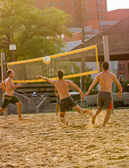 2017-07-17 BBV Men's Doubles (18) (cmfgu) Tags: craigfildespixelscom craigfildesfineartamericacom baltimore beach volleyball bbv md maryland innerharbor rashfield sand sports court net ball outdoor league athlete athletics sweat tan game match people play player doubles twos 2s men
