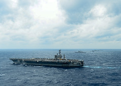 Exercise Malabar Demonstrated Indian, Japanese, U.S. Commitment to Indo-Asia-Pacific Security (#PACOM) Tags: ussnimitz cvn68 aircraftcarrier usnavy deployment bayofbengal