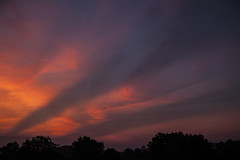 First picture of the day (Klaus Ficker --Landscape and Nature Photographer--) Tags: sunrise morning morninglight morgenrot wolken kentuckyphotography klausficker canon eos5dmarkii