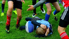 Kinder Rugby 2017 (Robi33) Tags: action ball ballsports basel rfcbasel championship ei field game rugby power match fight play sports switzerland referees team viewer kinder