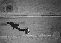 Shadow (beutlerdaniel) Tags: vogelperspektive gehen bern walk steetphotograhpy fuji streetfotografie streetphotography switzerland schweiz suisse svizzera schwarzweiss sw blackandwhite bw street schatten shadow