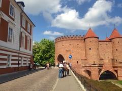 Barbakan Warszawski (brimidooley) Tags: warsaw warszawa poland polska citybreak city travel europe