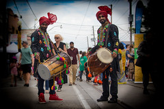 Beat of The Drums @ The TD Festival of South Asia (A Great Capture) Tags: south asia live music gerrard st east streetphotography streetscape street calle culture outdoor outdoors vibrant colorful cheerful vivid bright cityscape urbanscape eos digital dslr lens canon festival performer rebel t5i colours colors colourful agreatcapture agc wwwagreatcapturecom adjm ash2276 ashleylduffus ald mobilejay jamesmitchell toronto on ontario canada canadian photographer northamerica torontoexplore summer summertime été 2017 city downtown lights urban