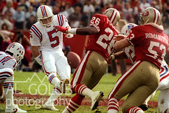 49ERS PATRIOTS (ah407009) Tags: october1 1989 49ers athlete conference field football gridiron helmet jersey league national nfc nfl afc player pro professional score sports uniform algolub photography sanfrancisco california newenglandpatriots stanford ca usa