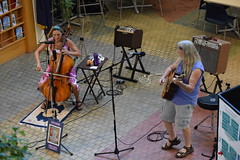 DSC_0009 (Emerald Chamber Players) Tags: lotus unfolding atrium eugene oregon 7222017