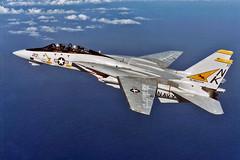 VF-21 F-14A Tomcat BuNo 161626 (skyhawkpc) Tags: navy usn naval aviation aircraft airplane usnavy grumman ussconstellation vf21freelancers f14a tomcat 161626 nk213 inflight 1986 officialusnavy military
