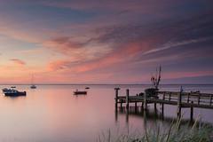Rewa, Poland (P.W.Kozlowska) Tags: landscape clouds poland baltic sea sunset calmness evening water