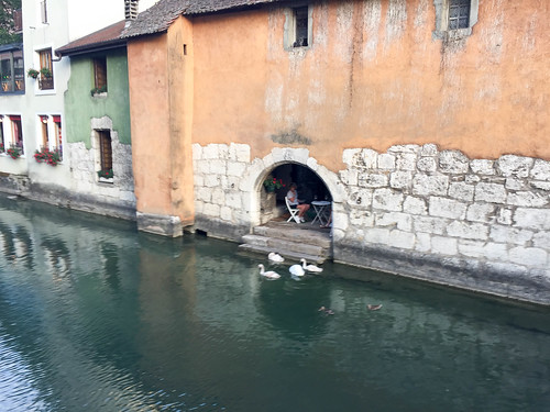 annecy france summer lake