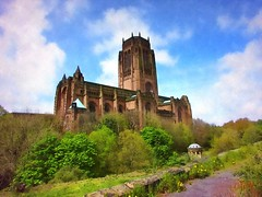 Rising majestically from rock to heaven (Humble Tommy) Tags: anglicancathedral liverpool worship merseyside churches england uk