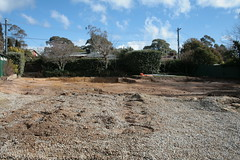 Bulldozed Ulm St property was a nice place (spelio) Tags: canberra act australia 2017 july house housing place homes architecture mrfluffy asbestos removal demolition clearing blocks