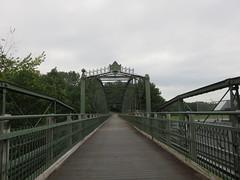 Highgate Falls Bridge (amyboemig) Tags: highgate falls vermont 251 iron bridge victorian douglas jarvis patent parabolic truss douglasjarvispatentparabolictrussironbridge