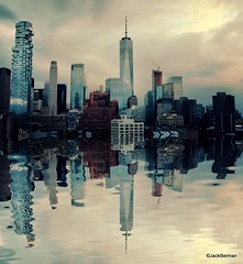 New York City (Jack Berman) Tags: nyc new york city skyline cityscape wtc world trade center freedom tower dusk night sunset tribeca soho