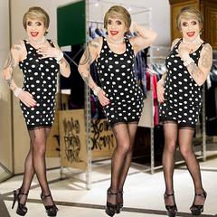 home15301-03 (Ann Drogyny) Tags: shoes legs heels crossdress crossdresser crossdressing cd tv tg ts transvestite transgender transsexual tranny tgirl glamour pinup mature cute sexy stockings nylons suspenders garters