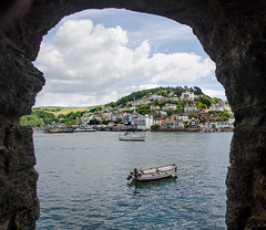 Fort View (Ken Came) Tags: dartmouth kingswear devon riverdart nikon d7000 kencame boats landscape omot