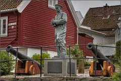 Vice Admiral Thore Horve (WatsonMike) Tags: horve ipsv0462 monument nedrestrandgate newkeywords norway rogaland stavanger thore tourism travel famous historic landmark statue